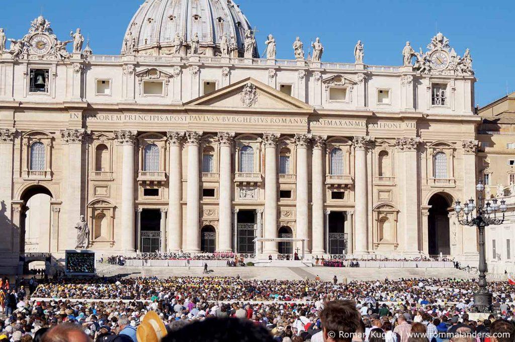 Papstmesse Rom