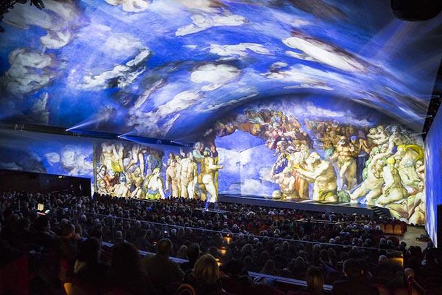 Show Rom Michelangelo das Jüngste Gericht
