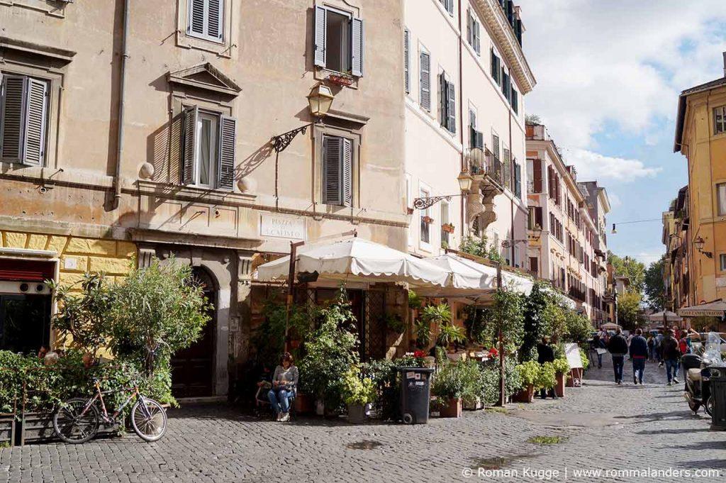 Trastevere Viertel in Rom