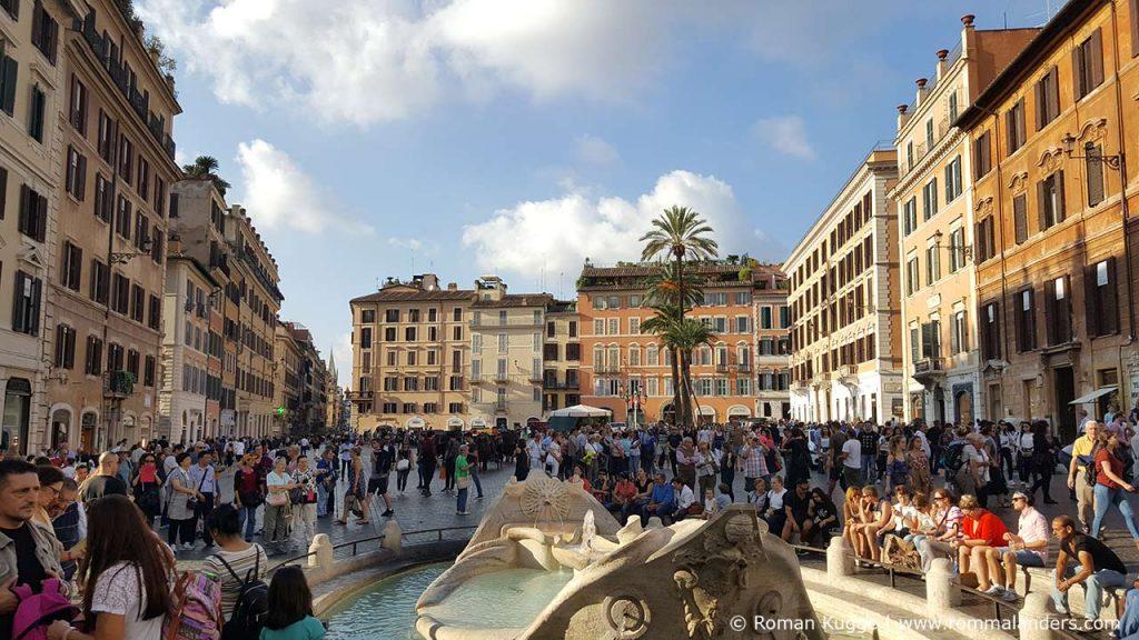 Rom Piazza di Spagnia Spanische Treppe