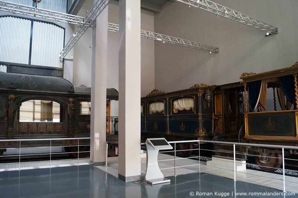 Centrale Montemartini Rom Papstwagen Papst Zug Wagon