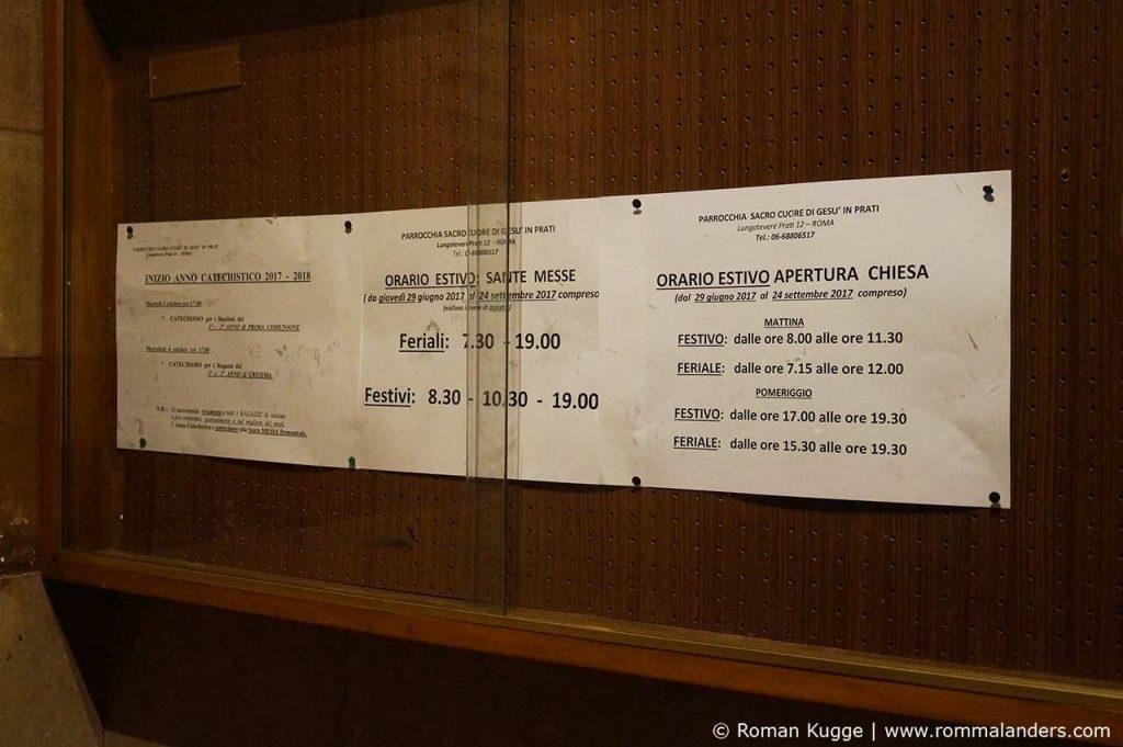 Fegefeuermuseum Rom Öffnungszeiten