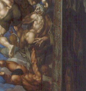 Juengste Gericht Sixtinische Kapelle