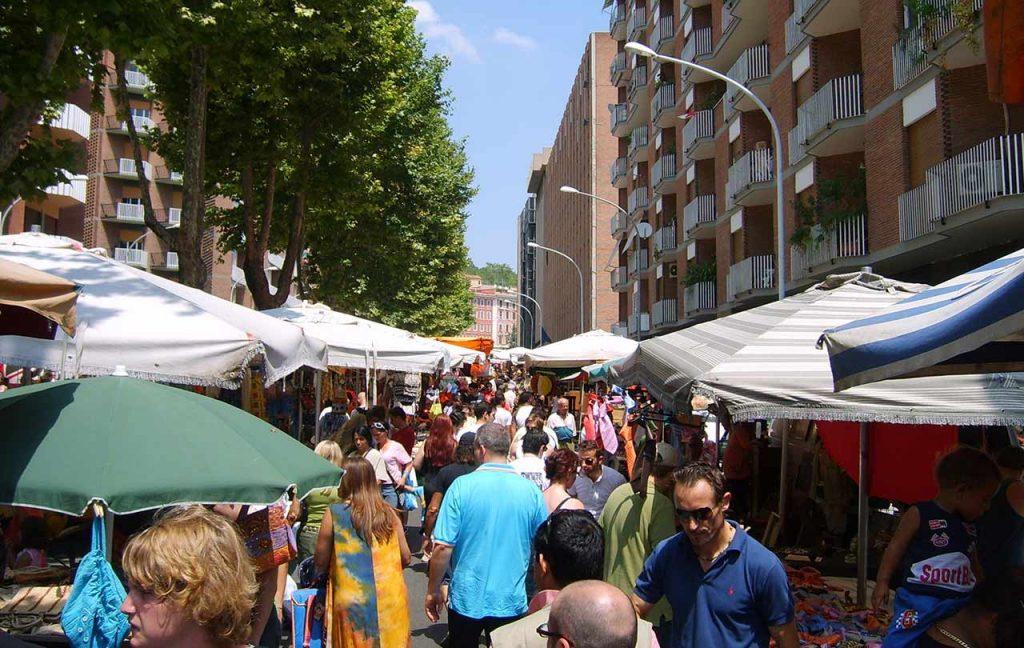 Rom Flohmarkt Porta Portese