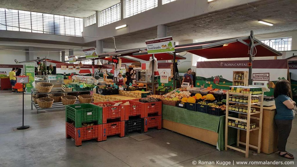 Rom Markt Farmers Market Via Passino Garbatella