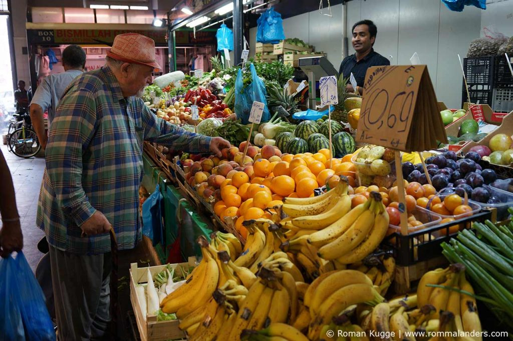 Rom Markt Nuovo Mercato Esquilino