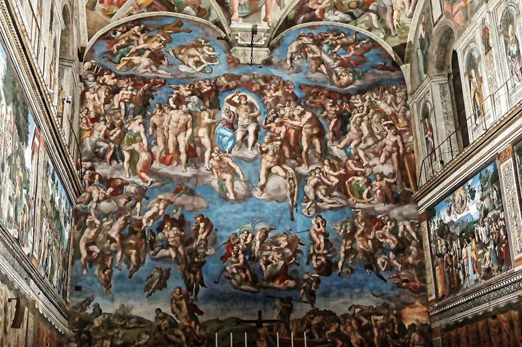 Sixtinische Kapelle Das Juengste Gericht