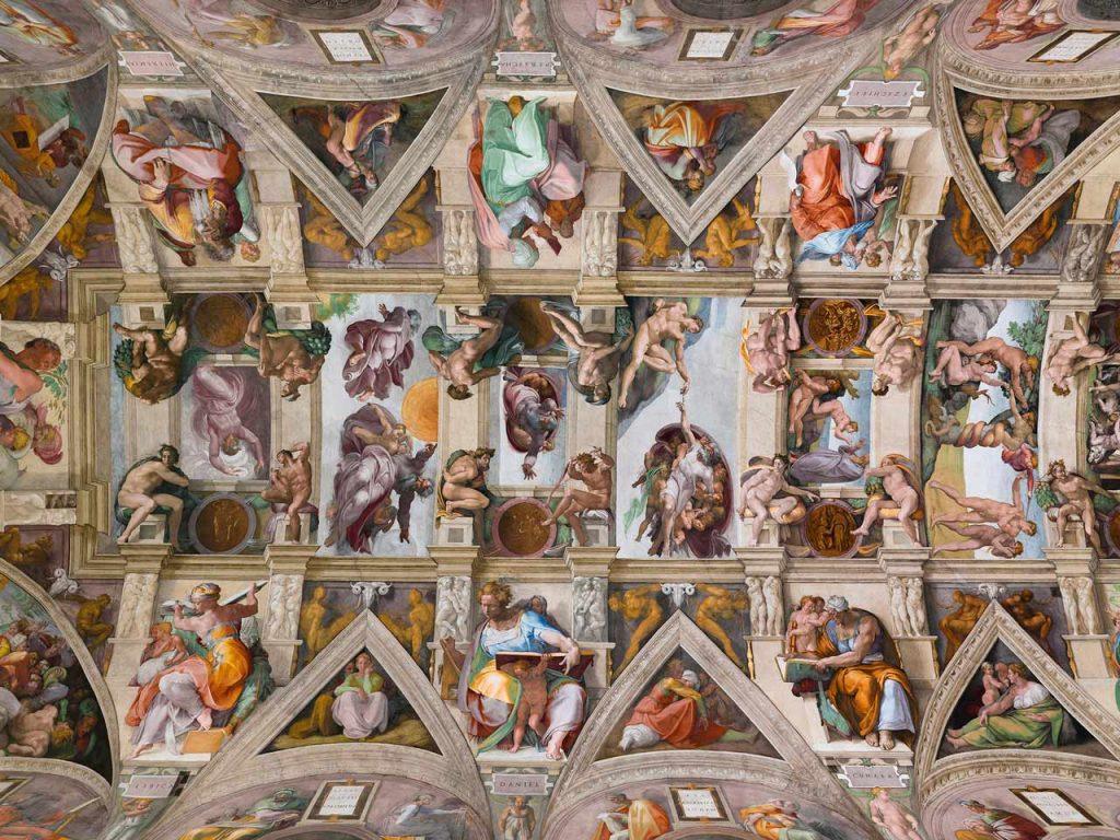 Sixtinische Kapelle Deckenfresko