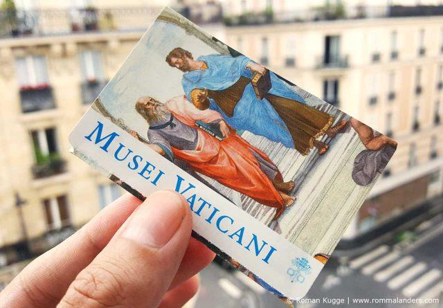 Vatikanische Museen Eintritt Preise Tickets