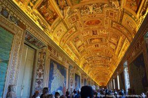 Vatikanische Museen Rom Galerie der Landkarten