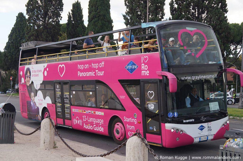 Hop On Hop Off Busse Rom Gray Line