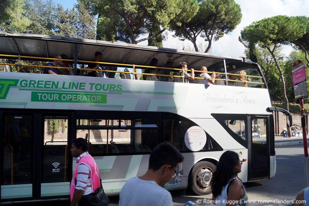 Hop On Hop Off Busse Rom Green Line