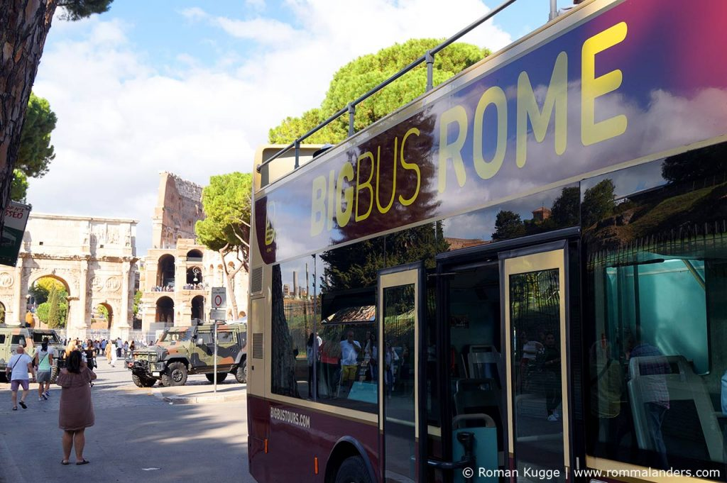 Hop On Hop Off Busse Rom Big Bus