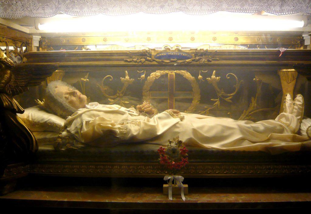 Überreste Anna Maria Taigi in Rom