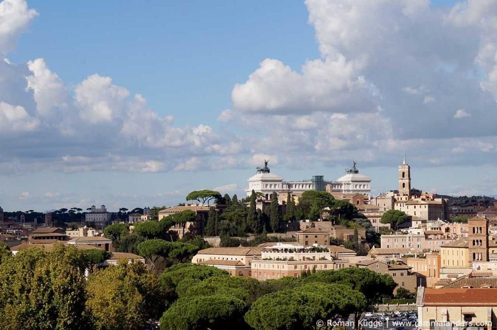 Ausblick Rom Aventin Hügel