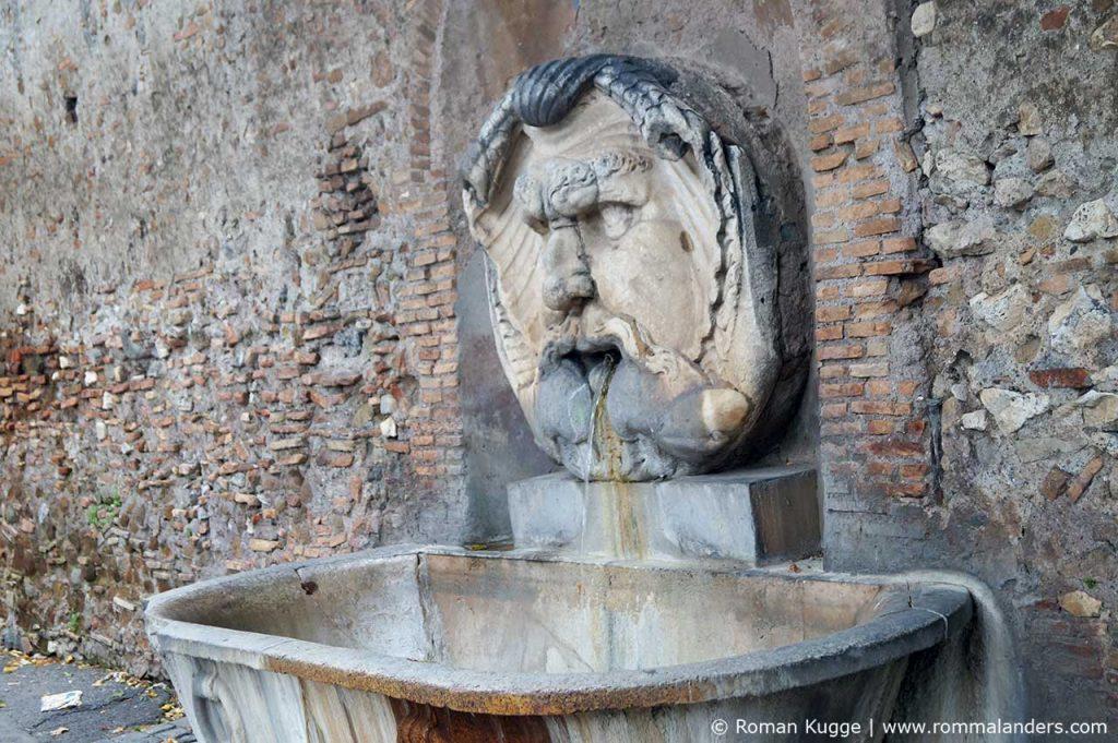 Aventin Hügel Rom Brunnen
