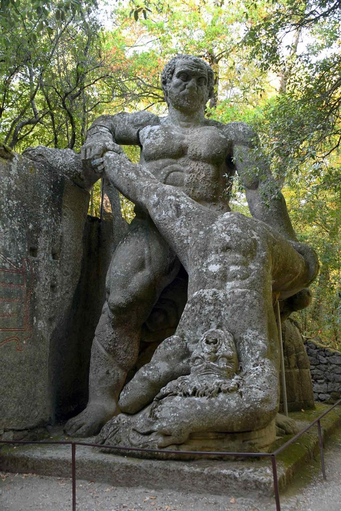 Gärten Bomarzo Monster