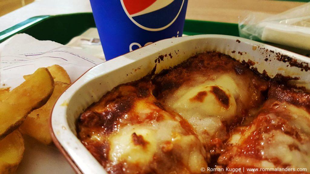 Lasagnam italienisches Fast Food Lasagnen