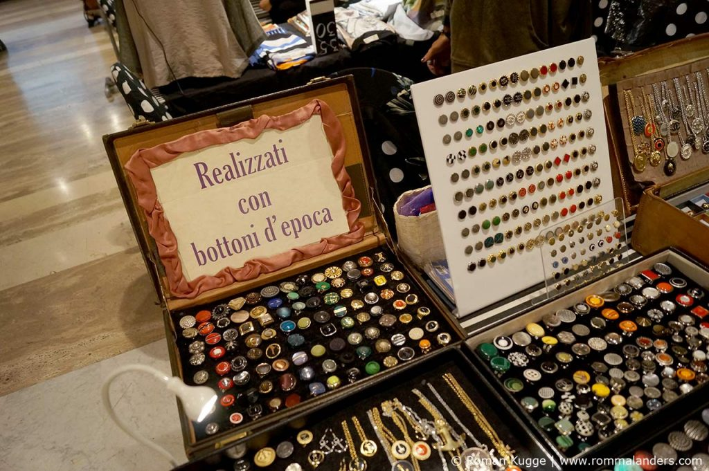 Mercato Monti Markt Designer in Rom