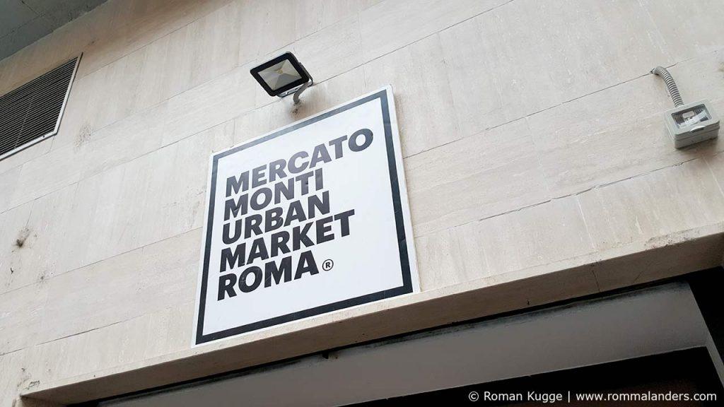 Mercato Monti Markt Rom
