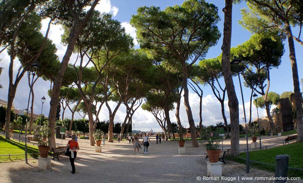 Orangenpark Rom Giardini degli Aranci