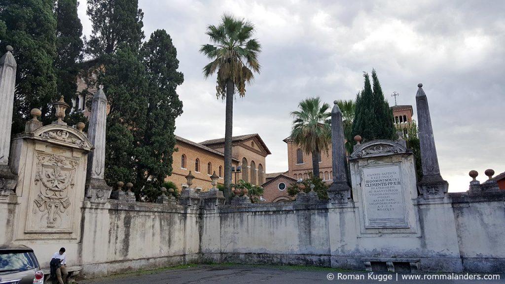 Platz Piazza dei cavalieri Rom Schlüsselloch