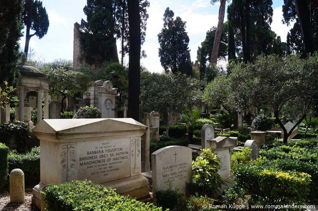 Protestantischer Friedhof Rom