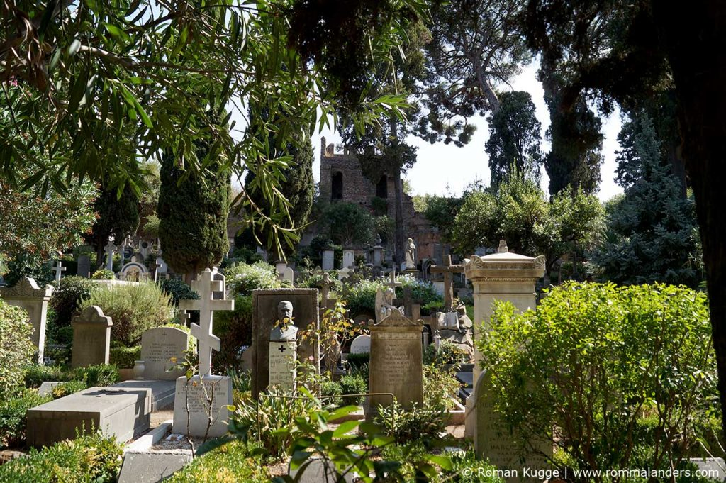 Protestantischer nicht-katholischer Friedhof Rom