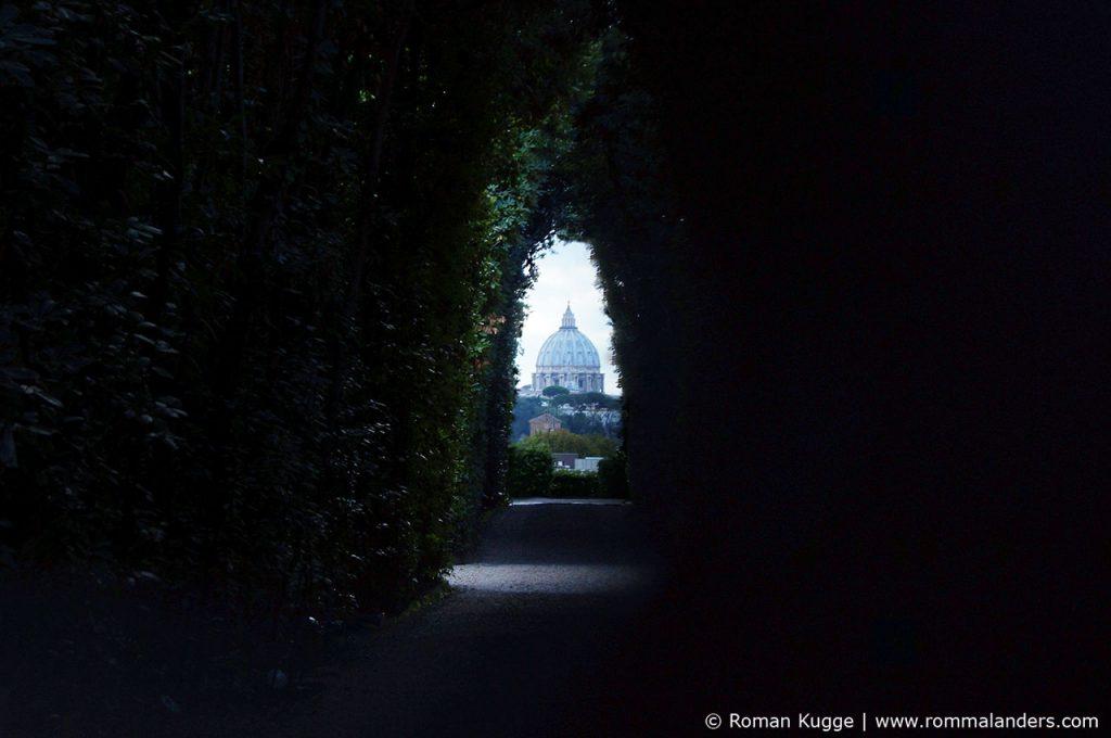 Schlüsselloch Rom
