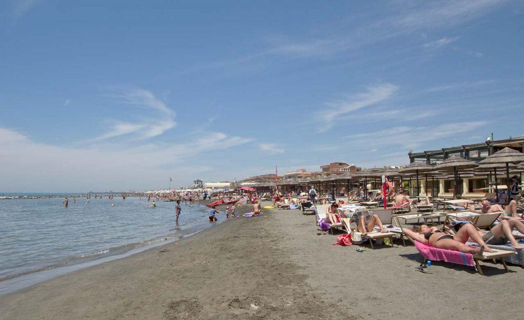 Strand Rom Lido di Ostia