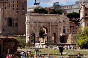 Triumphbogen des Kaisers Septimius Severus