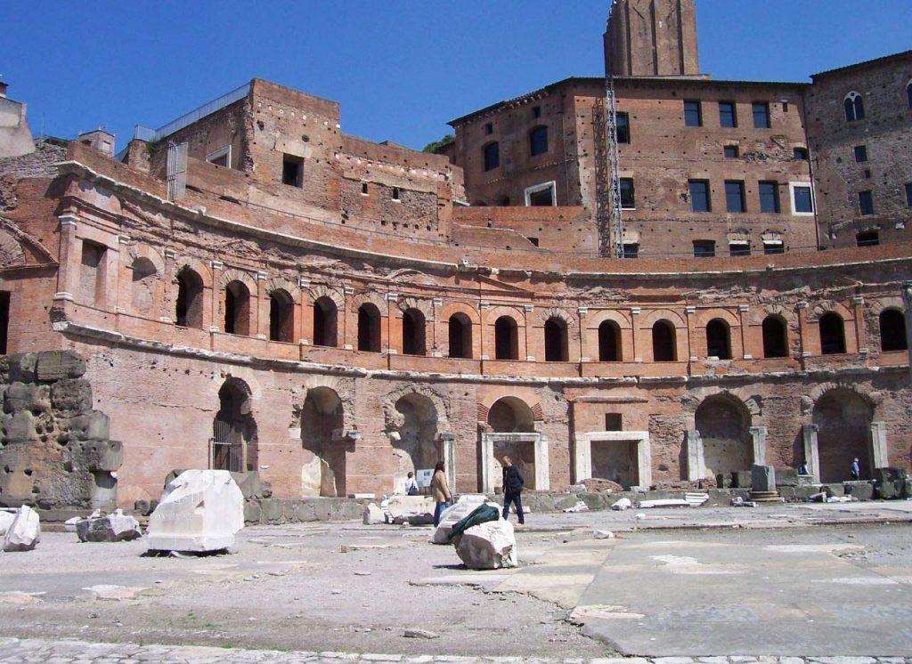 Märkte des Trajan
