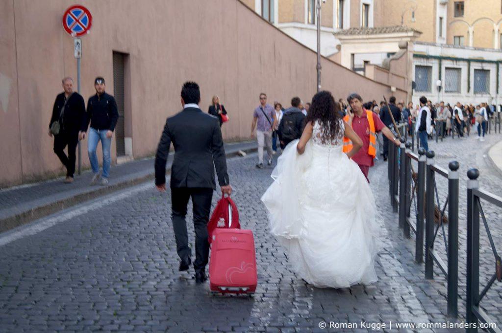 Papstadienz Brautpaar