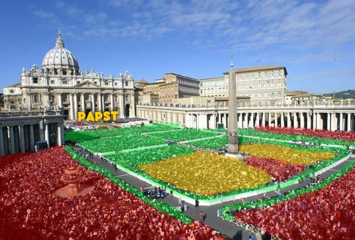 Papstaudienz Besten Plätze