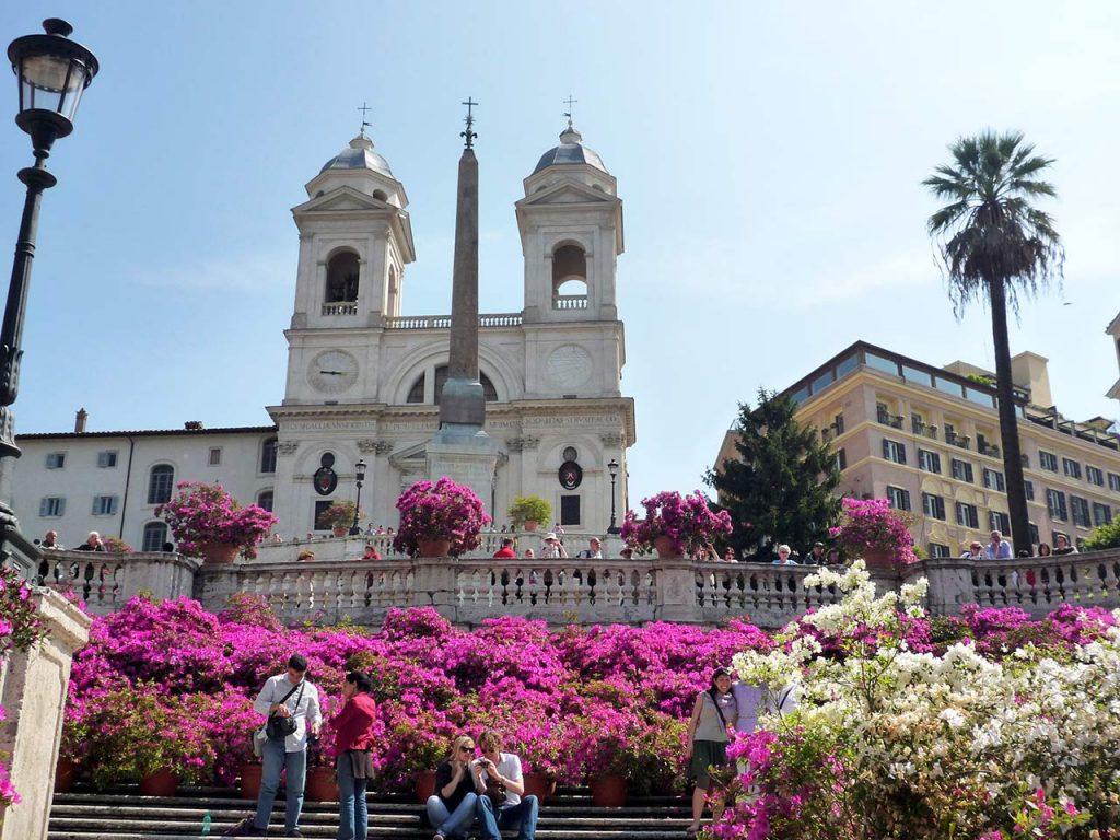 Blumen Spanische Treppe