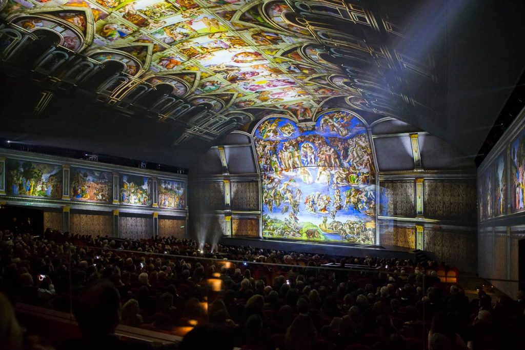 Michelangelo-Show Rom