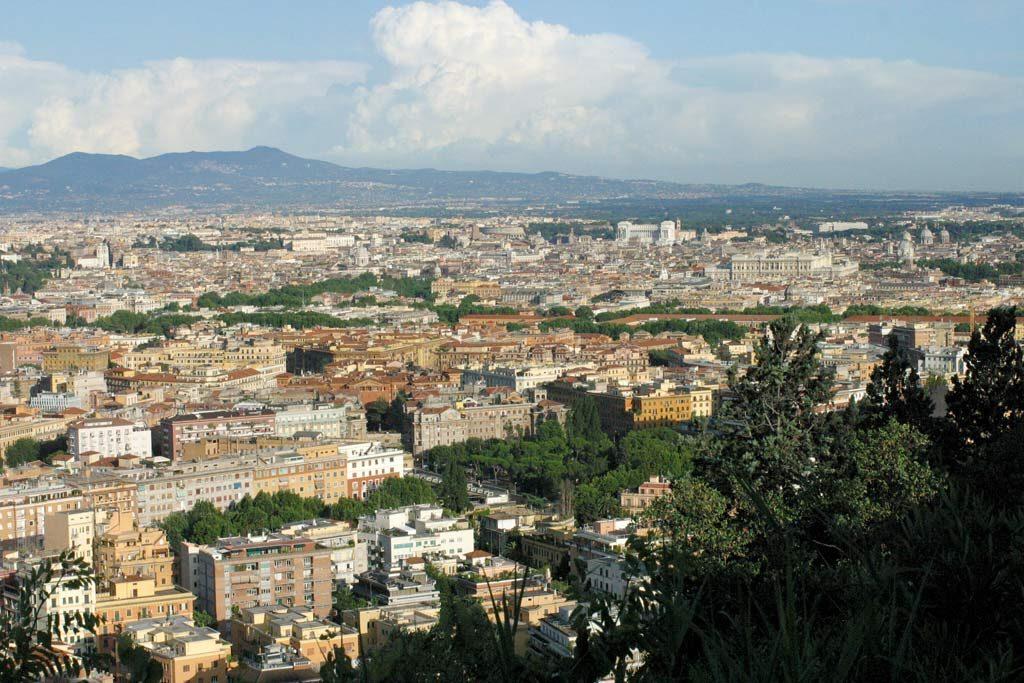 Aussichtspunkt Monte Mario in Rom