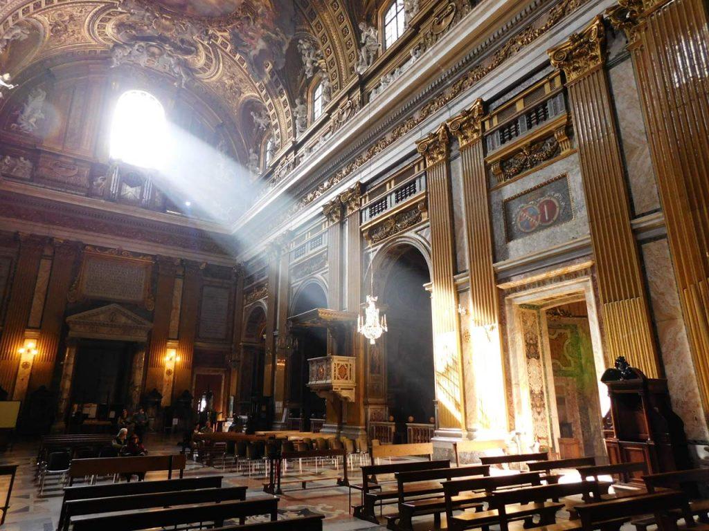 Chiesa il Gesu Kirche Rom
