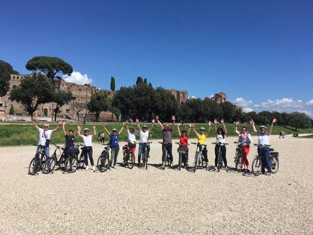 E-Bike Fahrradtour Rom