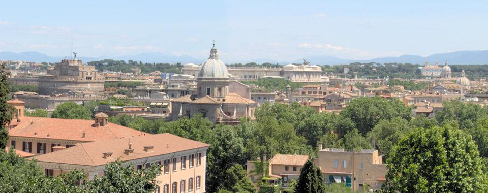 Gianicolo Aussichtspunkt Rom
