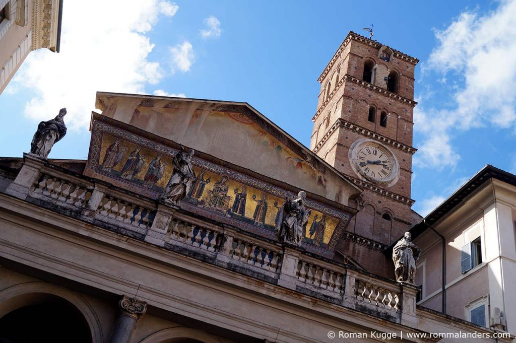 Kirche Santa Maria Trastevere