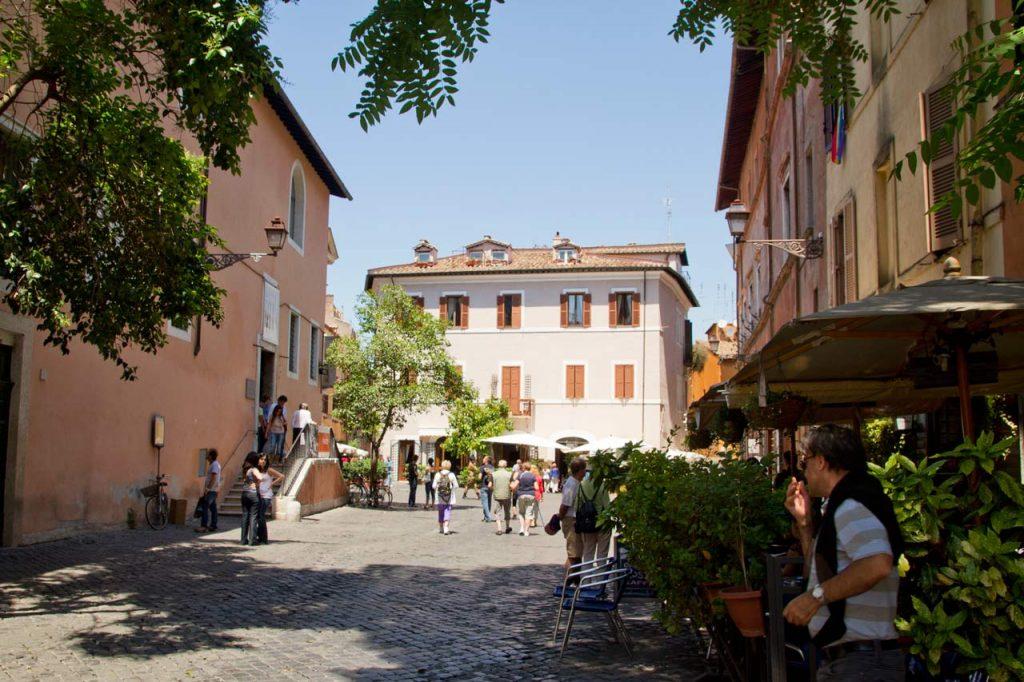 Piazza di Sant Egidio Rom