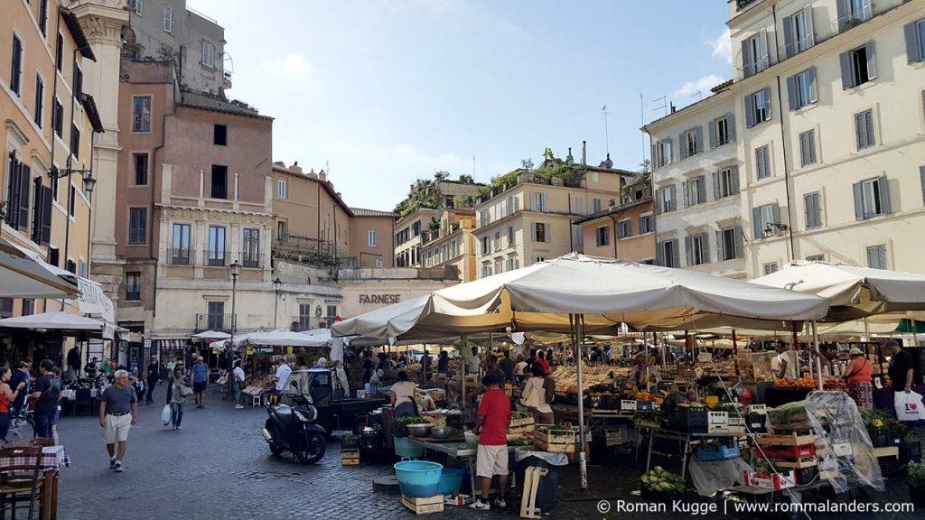 Plätze Rom Campo de Fiori