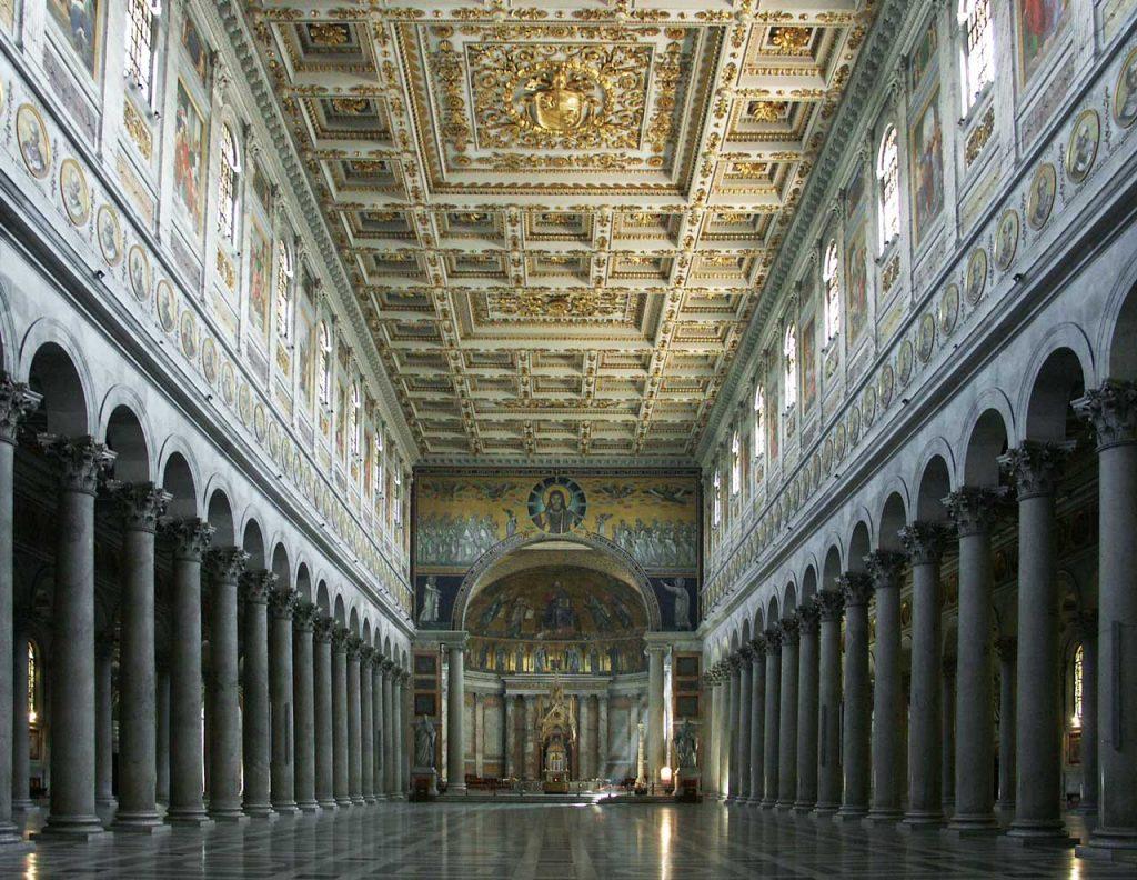 Sankt Paul vor den Mauern Kirche in Rom
