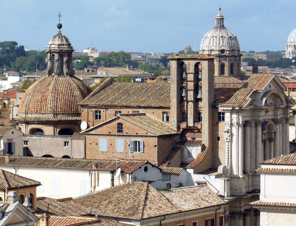 Terrazza Caffarelli Ausblick über Rom