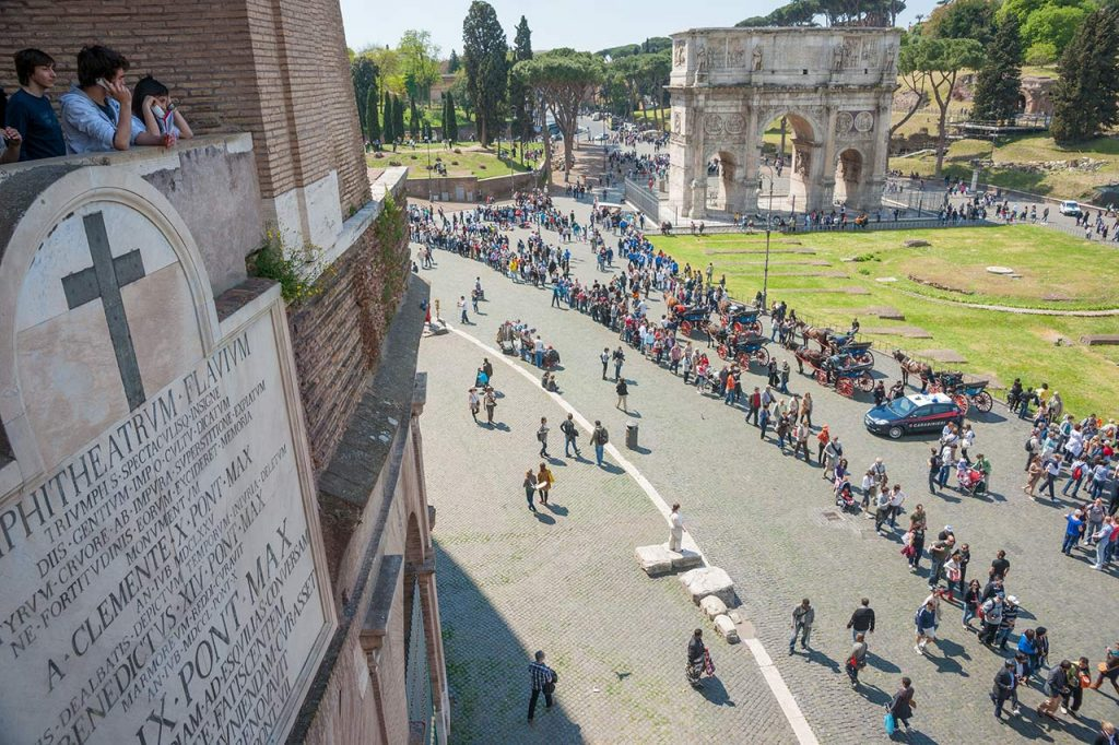 Wartezeiten Kolosseum