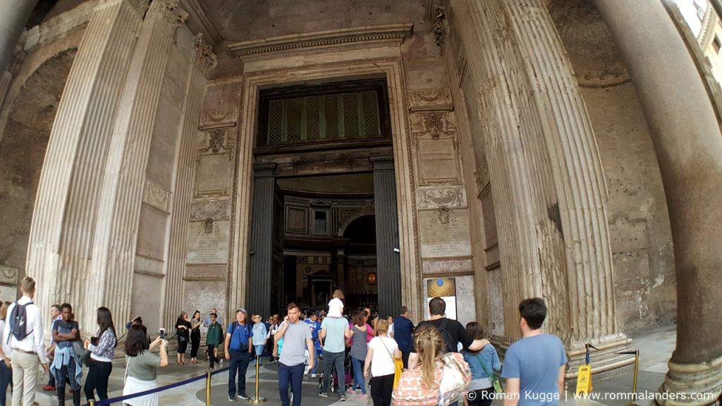 Wartezeiten Pantheon