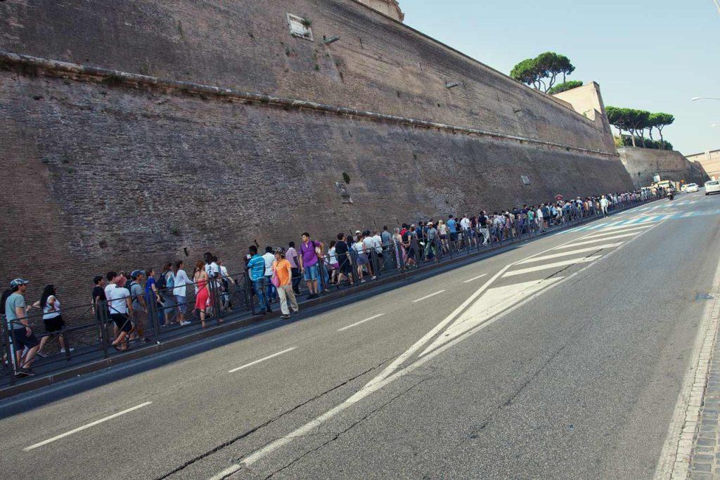 Wartezeiten Vatikanische Museen