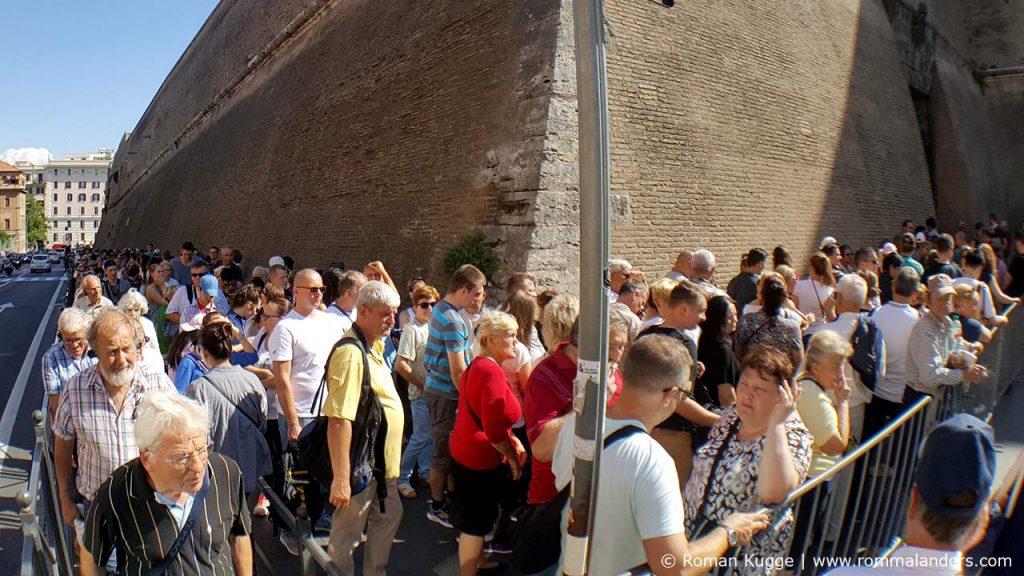 Wartezeiten Vatikanische Museen Rom Sixtinische Kapelle (4)