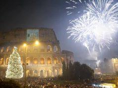 Feuerwerk Silvester Rom
